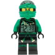 LEGO Ninjago Sky Pirates Lloyd Kids' 24cm Minifigure Moveable Alarm Clock