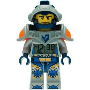 LEGO Clay Light-Up Minifigure Nexo Knights Alarm Clock