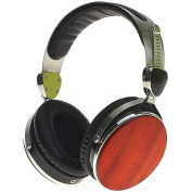 Symphonized Wraith 2.0 Premium Genuine Wood Headphones with Mic