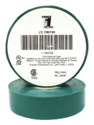 POWER FIRST 19N749 Electrical Tape, 0.2m x 18m, 7 mil, Green