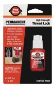 PRO-SEAL 27106 Permanent Threadlocker, 6mL Bottle, Red