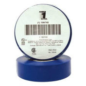 POWER FIRST 19N748 Electrical Tape, 0.2m x 18m, 7 mil, Blue