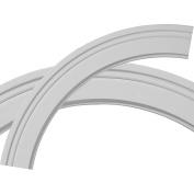 Ekena Millwork Monique 80cm H x 80cm W x 7.6cm D Ceiling Ring