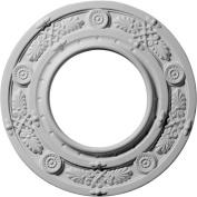 Ekena Millwork Daniela 20cm H x 20cm W x 1.3cm D Ceiling Medallion