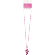 Hottie Whistle Bachelorette Bead Necklace