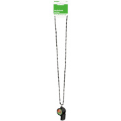 80cm Touchdown Whistle Football Bead Necklace