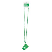 St. Patrick's Day Shot Glass Necklace
