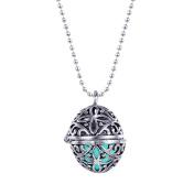 BodyJ4You® Necklace Pendant Charm Steampunk Fire Locket Jewellery