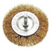 Heavy Duty Drill Wire Wheel Circular Flat 75mm Brush Metal Cleaning Rust Sanding