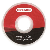 Oregon 24-518-25 3.0 Mm X 5.52 M Large Gator Speedload Replacement Trimmer Line