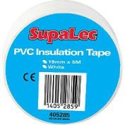 Supalec Pvc Insulation Tapes White 5 Metre