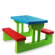 New! Kids Childrens Picnic Bench Table Set Outdoor Furniture