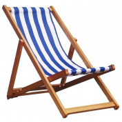 New! Traditional Folding Hardwood Garden Beach Sea Side Deck Chairs Deckchairs
