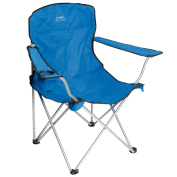 B#camp Gear Folding Camping Chair Picnic Outdoor Garden Blue Aluminium 1267188