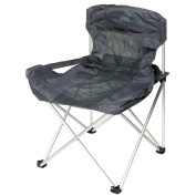 B#camp Gear Folding Camping Chair Picnic Outdoor Deluxe Compact Anthracite 12047