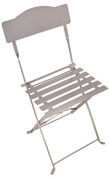 Fallen Fruits Balcony Folding Chair - Grey