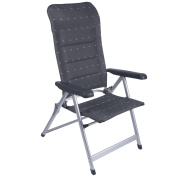 B#red Mountain Camping Folding Chair Backrest Adjustable Sienna Anthracite 12047