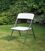 Plastic Folding Chairs Fold Up Away Flat Guest Home Party Garden Spare Seat New