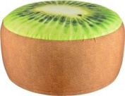 Fallen Fruits Outdoor Garden Colourful Unique Fun Lounging Pouffe Seat | Kiwi