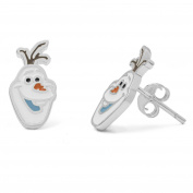 Disney Frozen Sterling Silver Olaf Stud Earrings