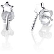 Disney Princess Women's Sterling Silver Magic Wand Post Earrings