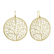 Jayden Star Isla Simone - Gold Tone Giving Tree Earring