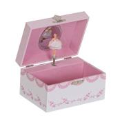 Mele & amp; Co. Clarice Girls Musical Ballerina Jewellery Box