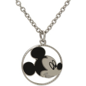 Disney Stainless Steel Mickey Pendant with Chain