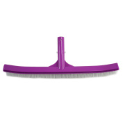 46cm Orchid Purple Curved Swimming Pool Wall and Floor Brush Head
