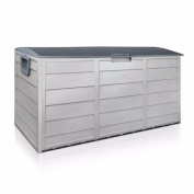 BARTON Pool Deck Box Patio Garden Shed Bin All Weather UV-Resistant