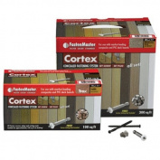 Fmctx-Az100cebs Cortex Concealed Deck Fstnr Sys Azek Soft Box Brownstone 9.3sqm