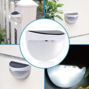 Ktaxon Waterproof 6 LED Solar Power Light Sensor Wall Light Outdoor Garden Fence Lamp - 1 lamp included
