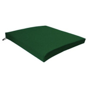 Green Seat Chair Cushion Outdoor Garden Tie On Waterproof Pad Removable Cover
