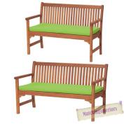 Lime 2 Or 3 Seat Bench Swing Garden Seat Pad Home Floor Cushion Indoor Outdoor