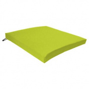 Lime Seat Chair Cushion Outdoor Garden Tie On Waterproof Pad Removable Cover