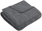 Zebra Textile 29151 Sofahusse Elastic Orion 3–seater Bench, Grey