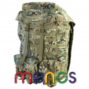 Kombat Uk Airborne Bergen 100 Litre Backpack - Btp Camping Trekking Military