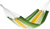Jobek 25612 Hammock Without Spreader Bar Antigua, 100% Jobekcord, Green Yellow