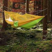 Camping Hammock,rasse® Mosquito Net Outdoor Hammock Travel Bed Lightweight For