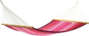 Jobek 25641 Hammock With Spreader Bar Aruba, 100% Jobekcord, Pink Striped
