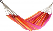 Jobek 25349 Hammock Without Spreader Bar Joia, 100% Jobekcord, Red Orange Yellow