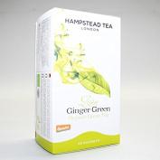 Hampstead Tea | Zesty Ginger Green | 4 X 20 Bags