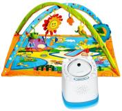 Tiny Love Gymini Sunny Day Activity Gym with Nursery Sound Machine & Projector