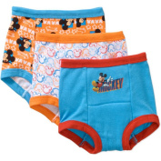 Mickey Mouse Toddler Boys' Training Pants, 3 Pack