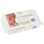 Bambino Mio Miowipes Natural Baby Wipes, 100 count