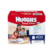 HUGGIES Simply Clean Fragrance Free Baby Wipes Refill. [ Sold by the Each, Quantity per Each : 1 EA, Category : Wet Wipes, Product Class : Wet Wipes ]