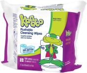 Kandoo Flushable Wipes, Refills, Magic Melon 100 ea