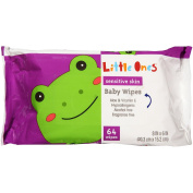 Little Ones L1 Baby Wipes Fragra.64C Free 64CT Refil