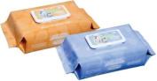 Nice 'N Clean Baby Wipe 8 X 22cm X 25cm Soft Pack Aloe-Pack of 40