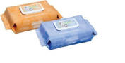 Nice N Clean Baby Wipe, 7 x 8, W/Lotion & Aloe Soft Pack-Pack of 80
